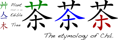 The Etymology of Chá