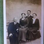 George Martin, Hattie Martin, Julius Martin, & unknown.