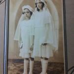 Lucile DeAngelis (right) and Gloria DeAngelis Borick (left) (Grandma's first cousins)