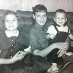 Irene Pillar's children. Center: Marlyn. Right: Elaine. Little kid: Eugene. (All Pillars)