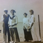 Uncle Elmer Martin (on left). Others unknown.