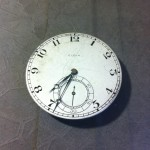 Front dial.