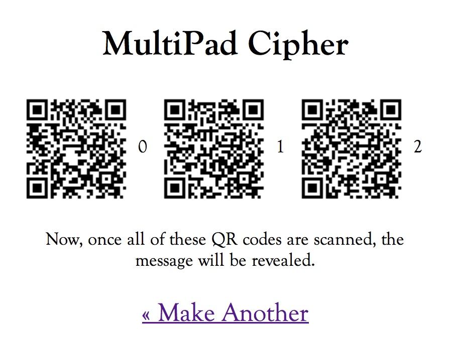 multipad cipher