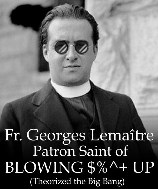 Georges Lemaître Patron Saint